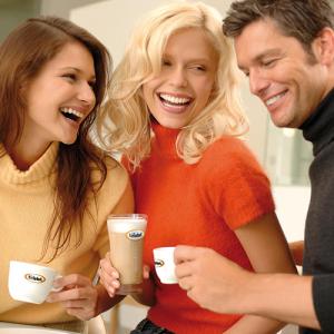 Bristot koffie op het werk