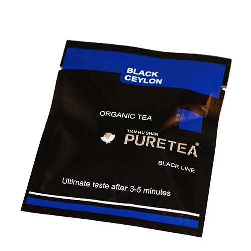 PURETEA Bio thee Black Ceylon black line 25 stuks