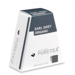 PURETEA Bio thee Earl Grey Organic white line