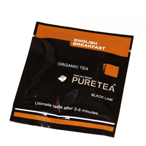 PURETEA Bio thee English Breakfast black line 25 stuks