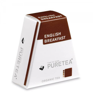 PURETEA Bio thee English Breakfast white line