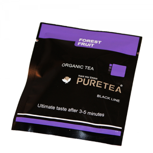 PURETEA Bio thee Forest Fruit black line 25 stuks