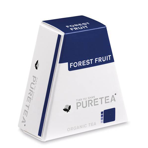PURETEA Bio thee Forest Fruit white line