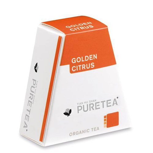PURETEA Thee Golden Citrus white line