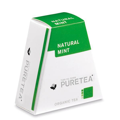 PURETEA Thee Natural Mint white line