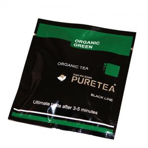 PURETEA Bio thee Organic Green black line 25 stuks