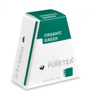 PURETEA Thee Organic Green white line