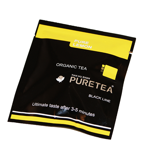 PURETEA Bio thee Pure Lemon black line 25 stuks