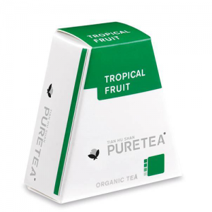 PURETEA Thee Tropical Fruit white line