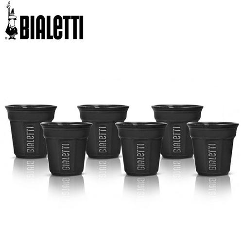 Bialetti Bicchierini espresso kopje zwart