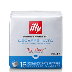 Illy Iperespresso capsules cafeinevrij