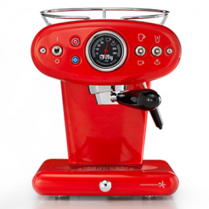 Illy X1 Espresso & Coffee espressomachine rood