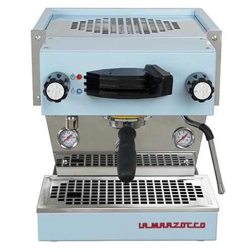 La Marzocco Linea Mini Blauw espressomachine
