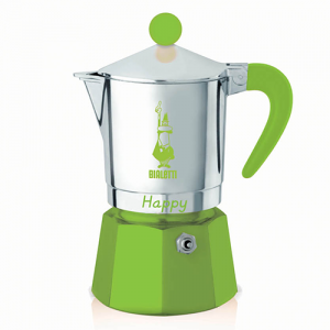 Bialetti Happy Groen 3 kops