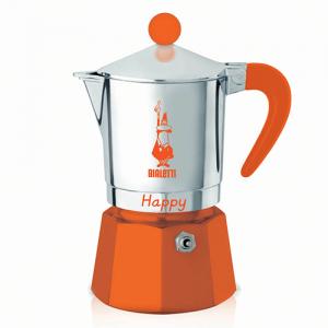Bialetti Happy Oranje 3 kops