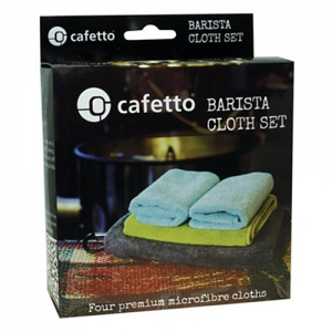 Cafetto Barista microvezeldoeken set