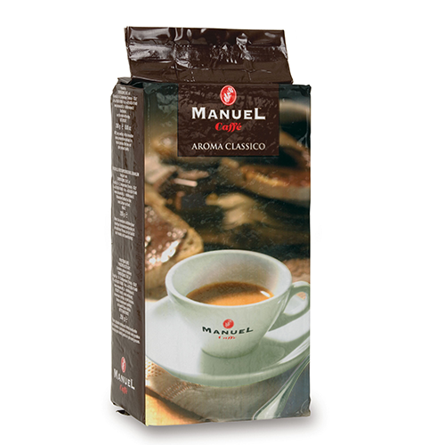 Manuel Caffe Aroma Classico gemalen koffie