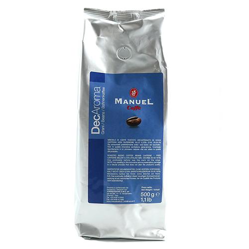 Manuel Caffe Decaffeinato koffiebonen 500g