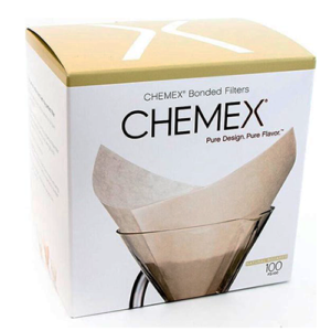 Chemex Filters vierkant wit 6-8-10-kops