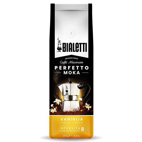 Bialetti Perfetto Moka Vaniglia gemalen koffie