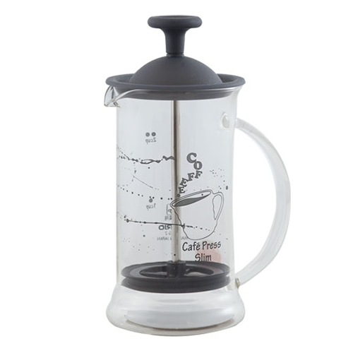 Hario Cafe Press Slim S Zwart 240ml